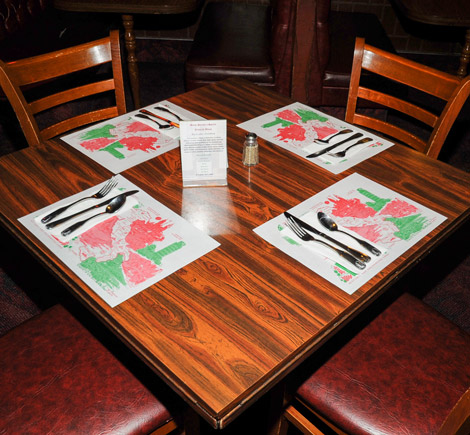Table for Four! at Mama Petrillo's Pizza and Italian Restaurant in Temple City, CA 91780