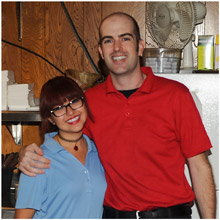 Some of the Friendly Staff! at Mama Petrillo's Pizza and Italian Restaurant in Temple City, CA 91780